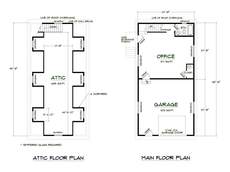 Top 21 photos ideas for shop apartment plans building for The garage plan shop